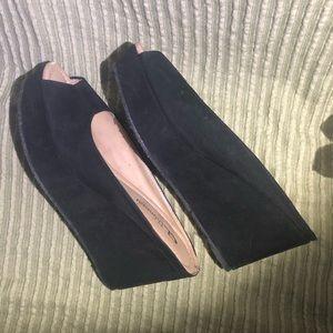 Chinese Laundry Shoes - Chinese Laundry Peep Toe Slip On Platforms